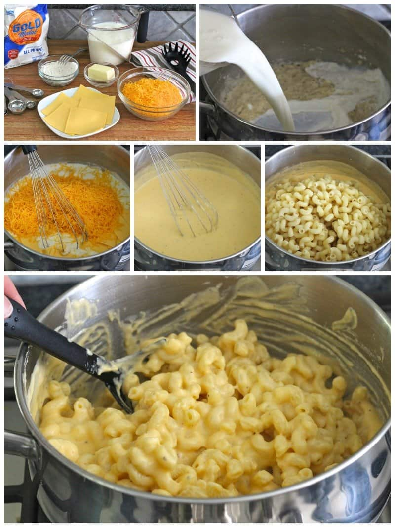 Stovetop Macaroni and Cheese | The BakerMama