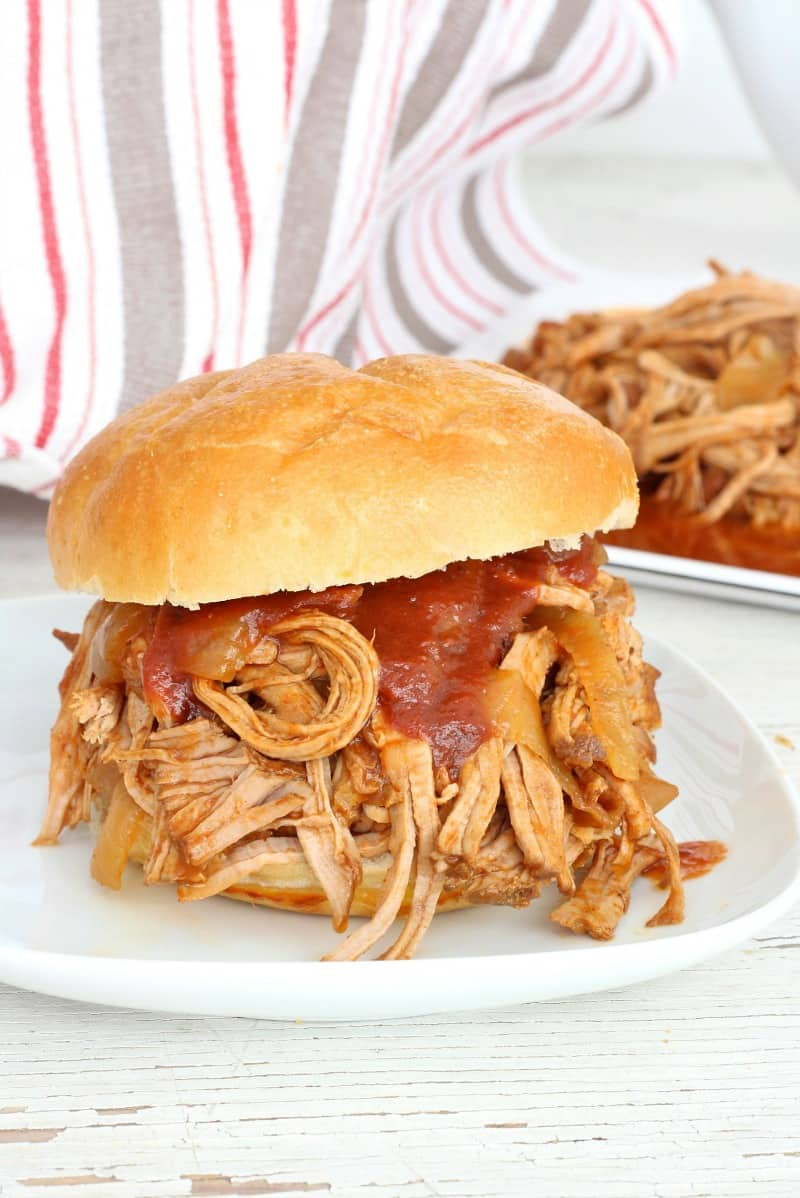 ... is all you need to make this amazingly tender and tasty pulled pork