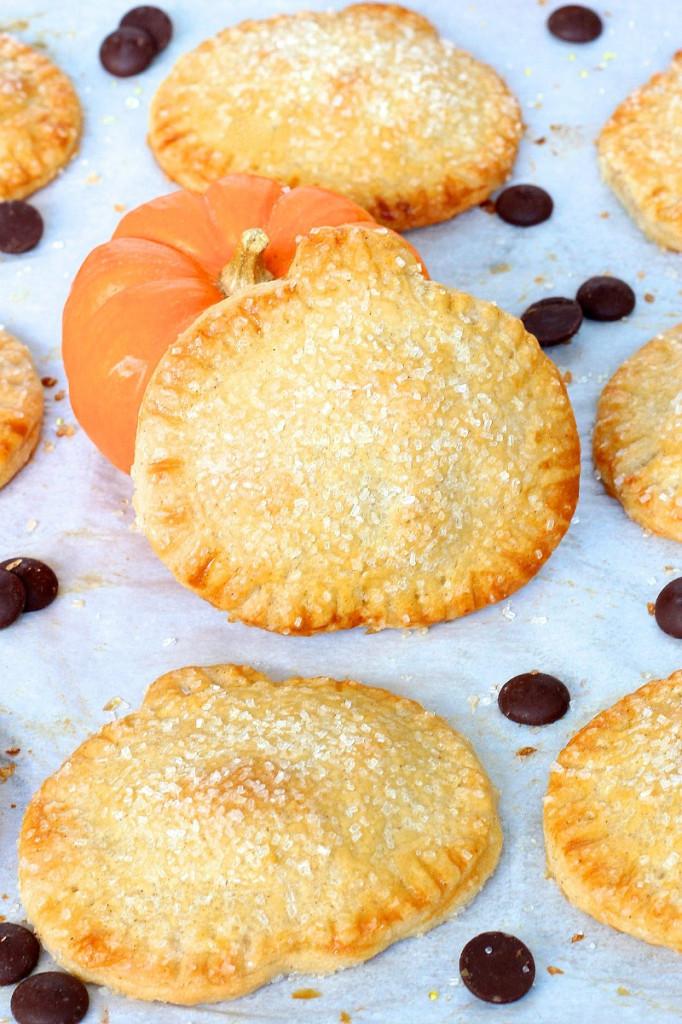 Pumpkin Chocolate Hand Pies