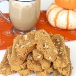 Pumpkin Walnut Biscotti