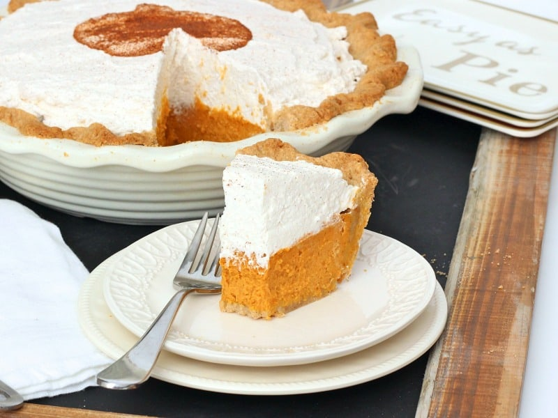 ... pumpkin pie craving you're trying to cure, this pumpkin cream pie is