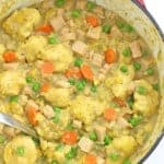 Turkey and Cornbread Dumplings