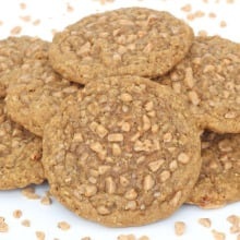 Brown Sugar Oatmeal Toffee Crunch Cookies