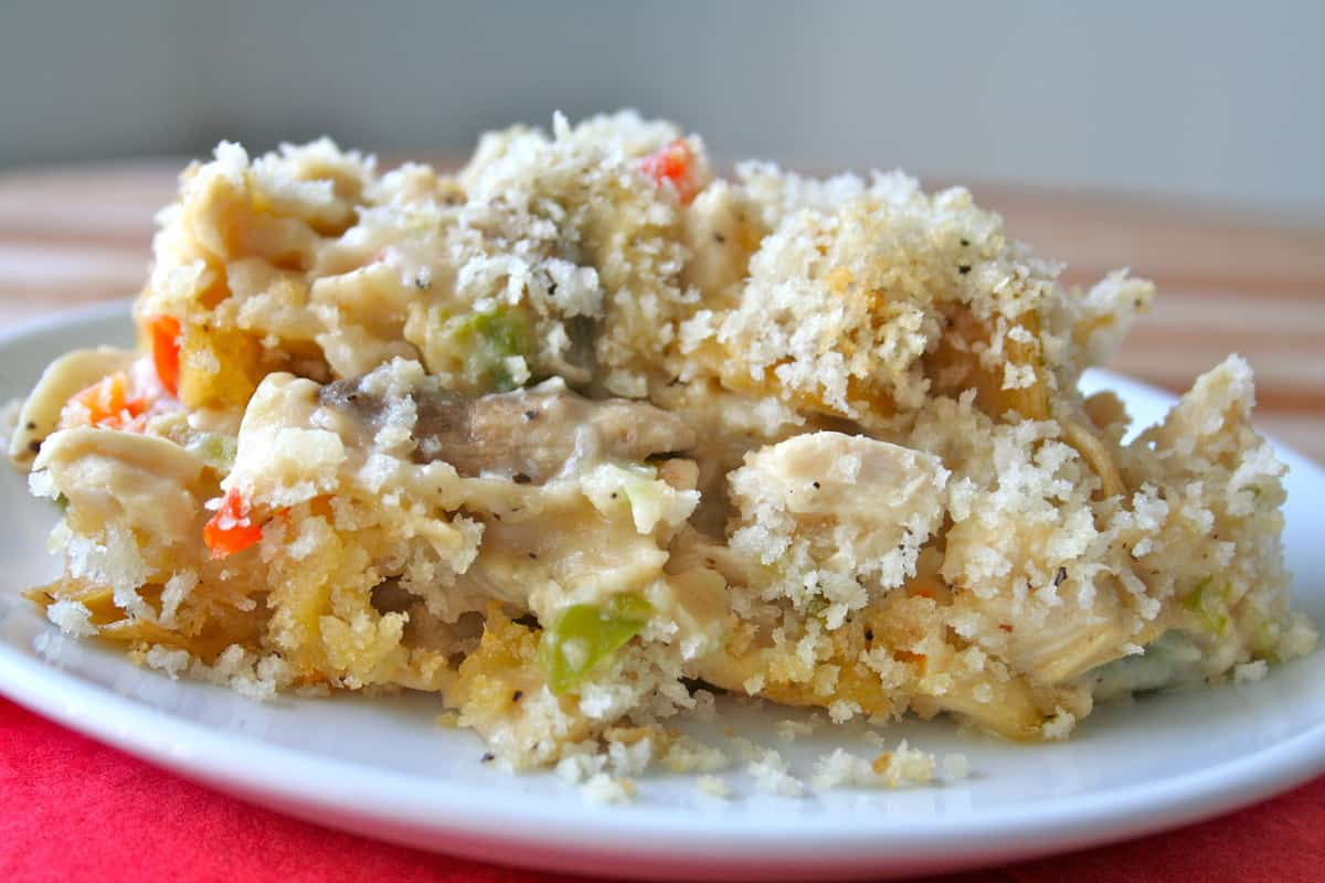 chicken noodle casserole i recipes dishmaps chicken noodle casserole ...