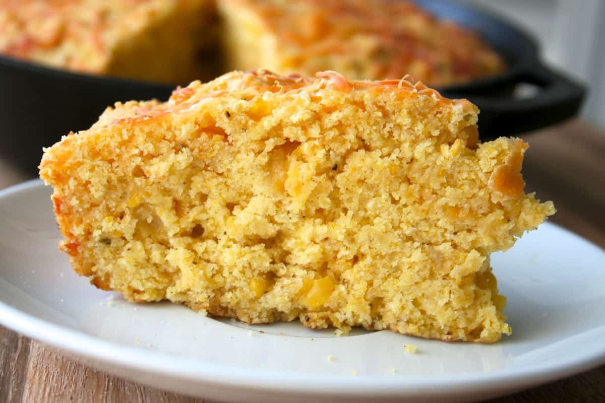 Cheesy Corn Cornbread