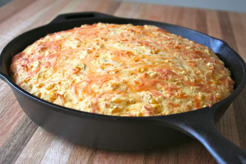 Cheesy Corn Cornbread