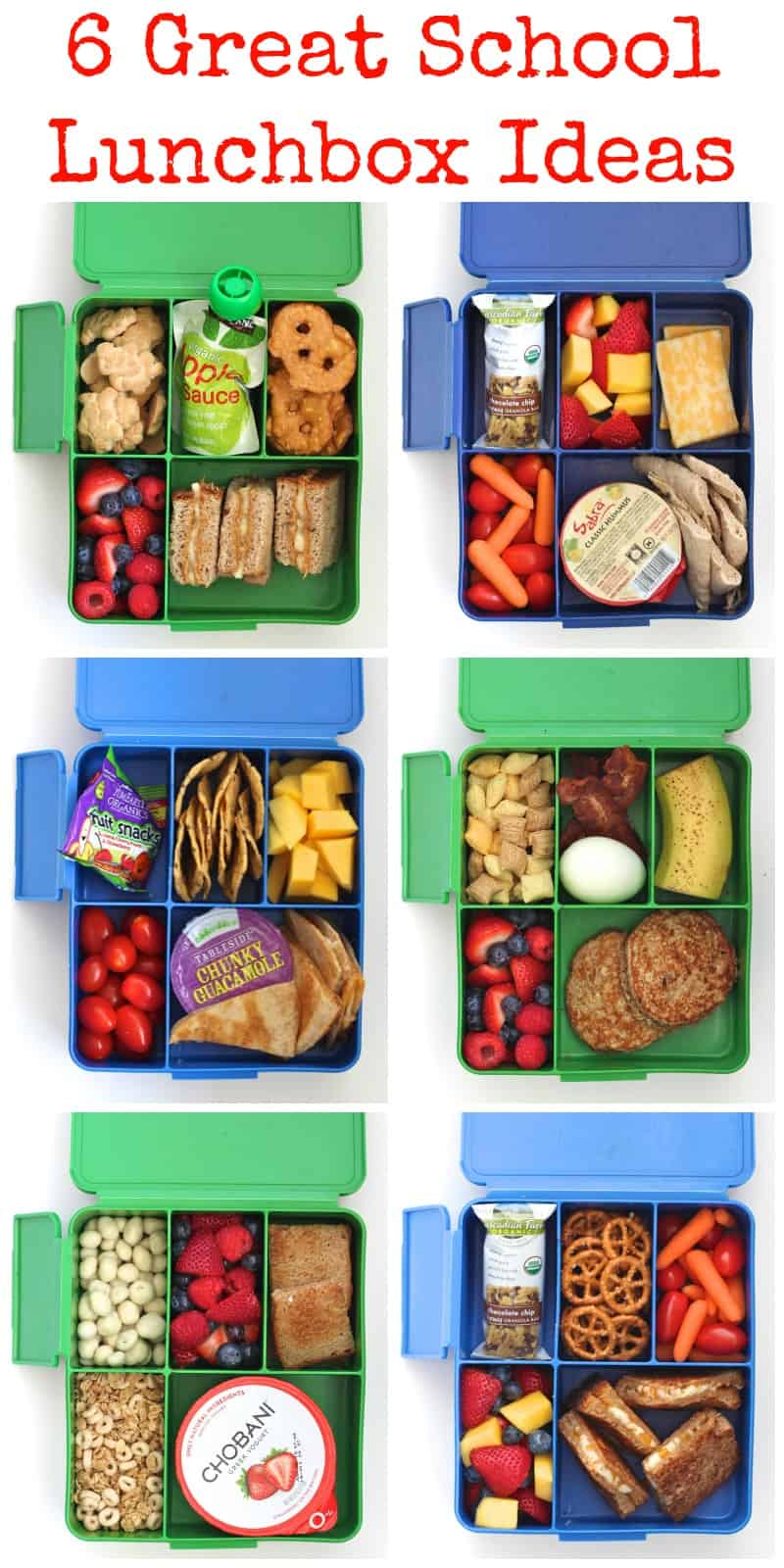 6 Great School Lunchbox Ideas
