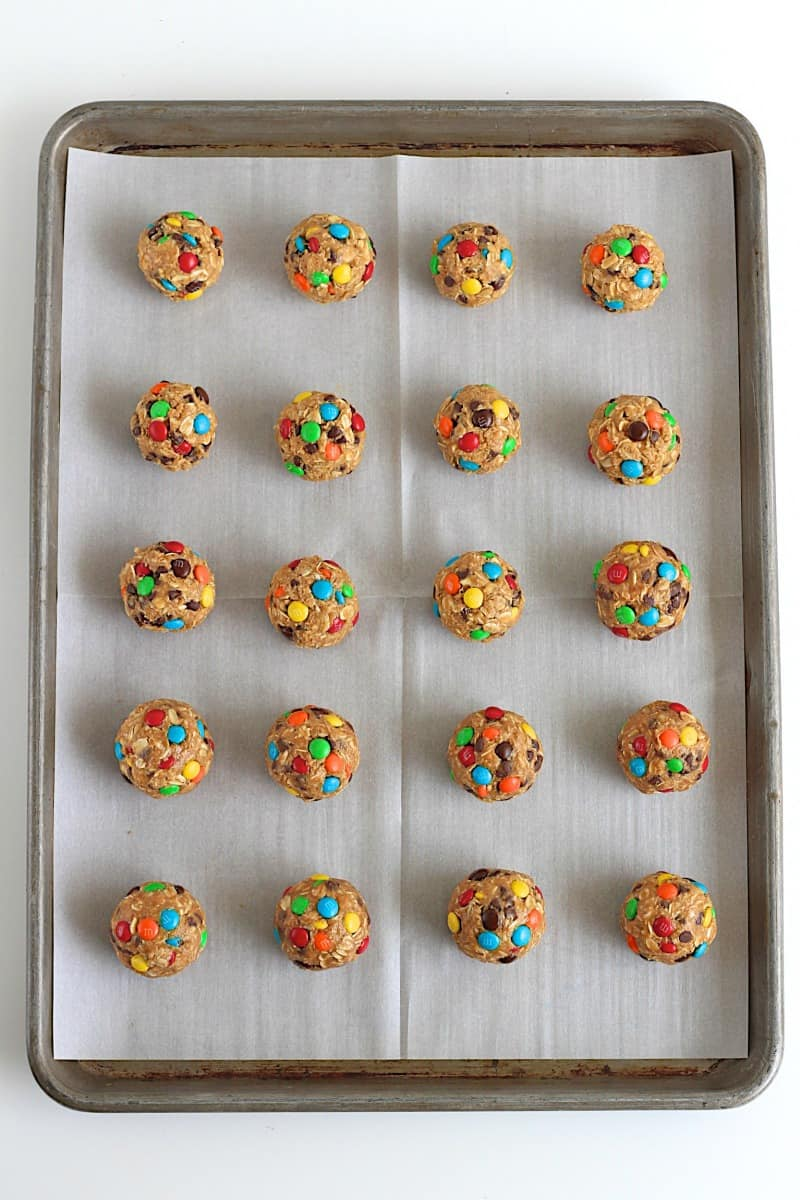 No-Bake Monster Cookie Balls | The BakerMama