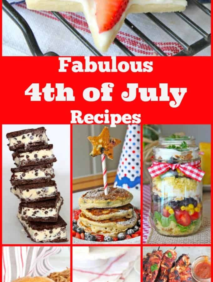Fabulous 4th of July Recipes