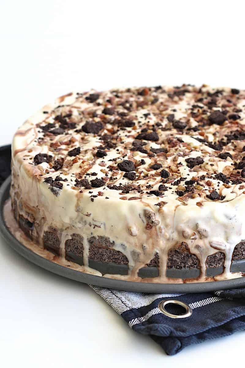 Oreo Ice Cream Pie