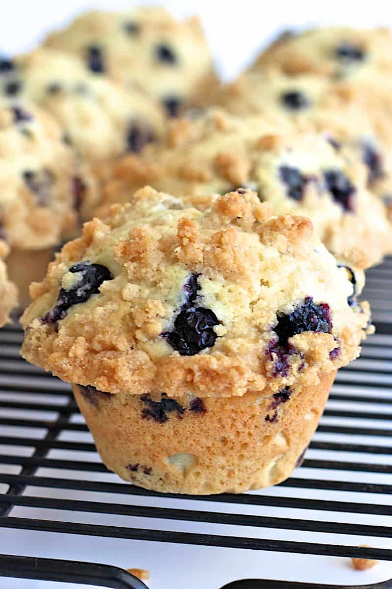Blueberry Streusel Muffins