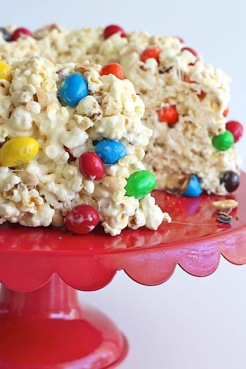Peanut Popcorn Cake