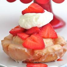 Old-Fashioned Donut Strawberry Shortcake