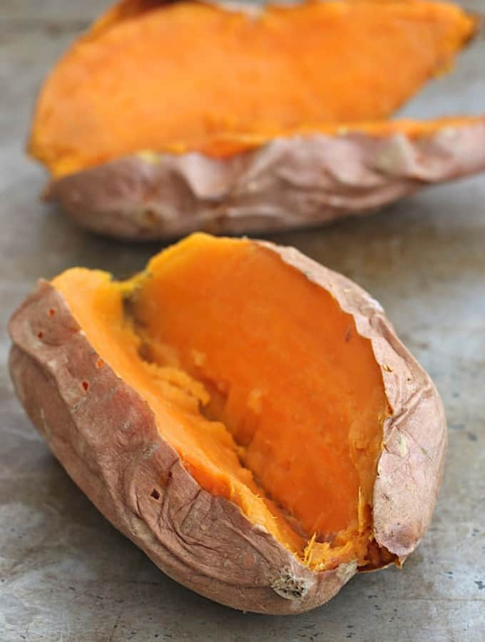 Greek Loaded Sweet Potatoes