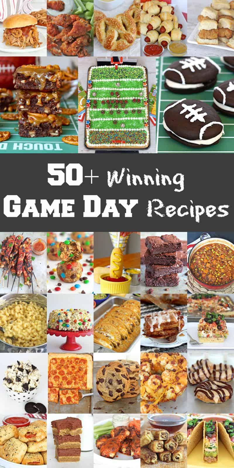 50+ Winning Game Day Recipes