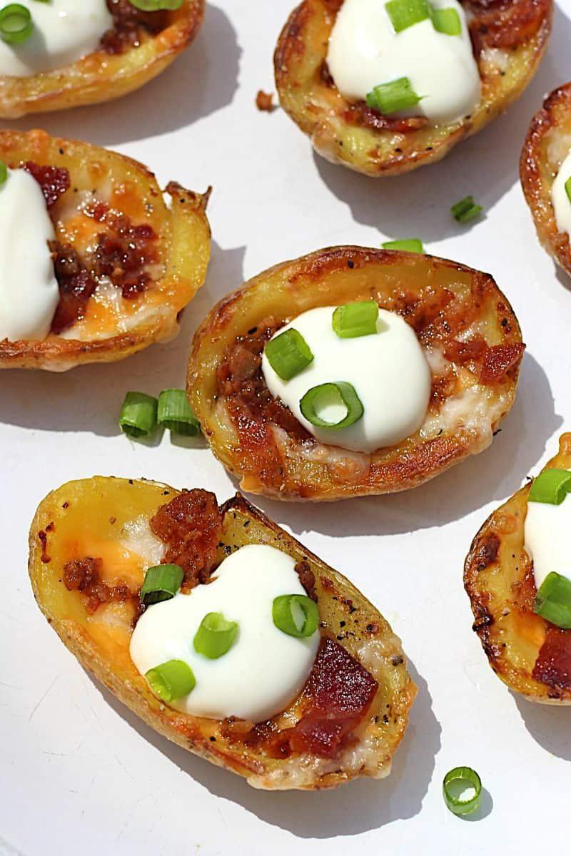 Mini Potato Skins