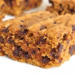 Pumpkin Chocolate Chip Snack Cake {3 Ingredients}