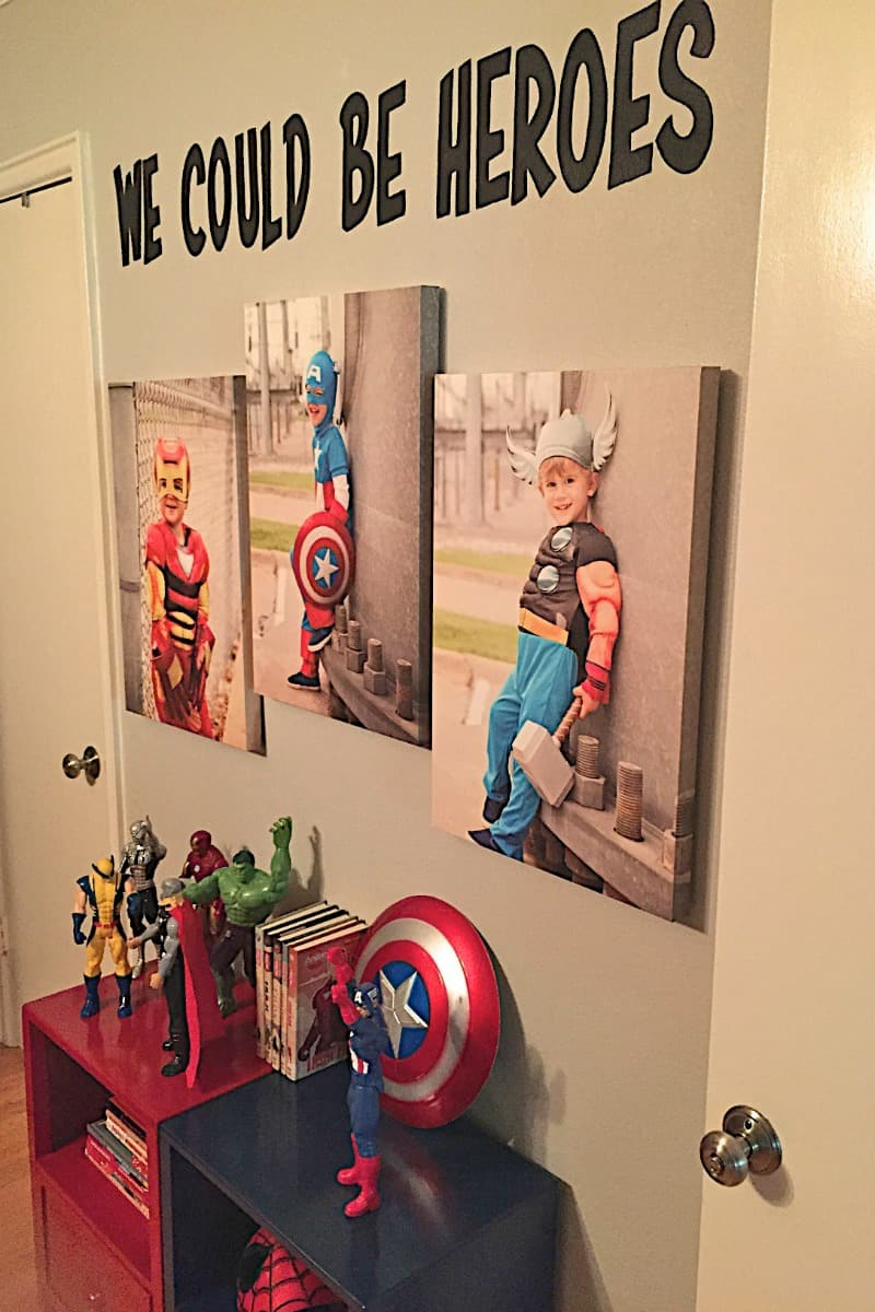 Boys Superhero Bedroom | The BakerMama