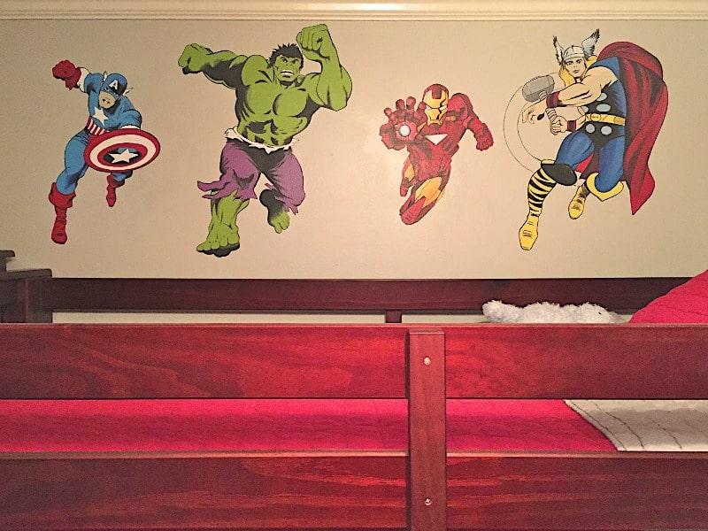 Genial Superhero Bedroom Ideas