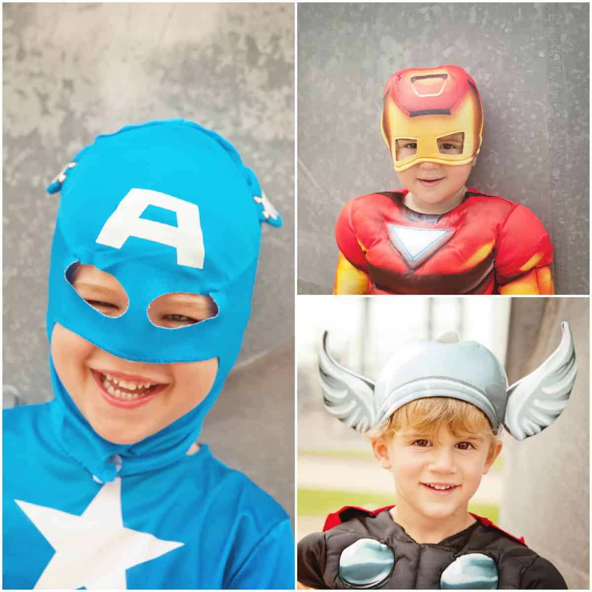 Superhero Photo Session - The BakerMama
