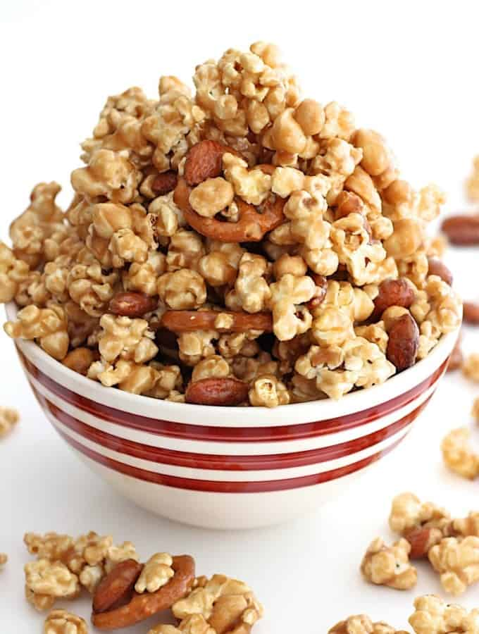 Quick and Easy Caramel Corn Mix
