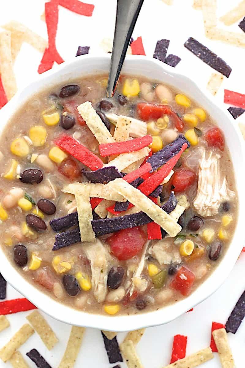 Homemade Chick-fil-A Chicken Tortilla Soup