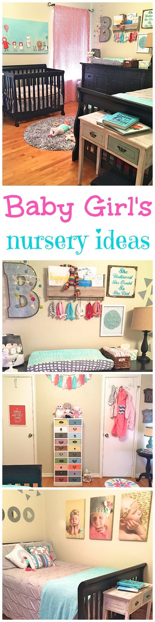 Baby Girl's Nursery Ideas