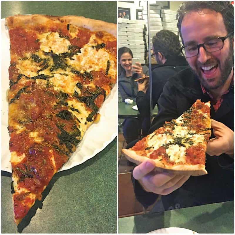 Bleecker Street Pizza - The BakerMama Taste of NYC