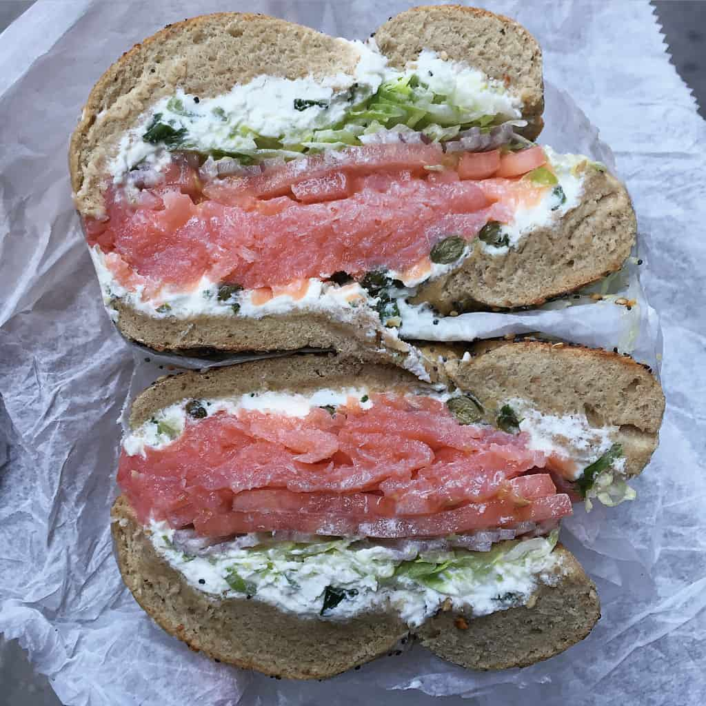 Best Bagel and Coffee - The BakerMama Taste of NYC