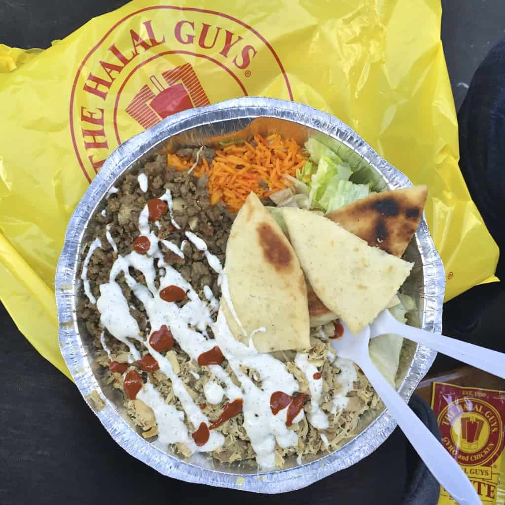 The Halal Guys - The BakerMama Taste of NYC