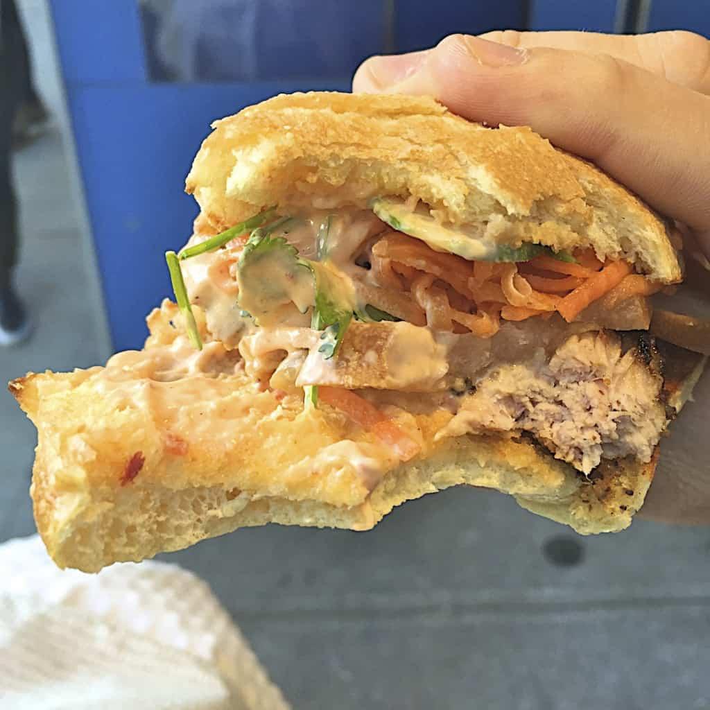 Num Pang Sandwich Shop - The BakerMama Taste of NYC