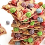 Peanut Butter Berry Bunch Crunch Bark