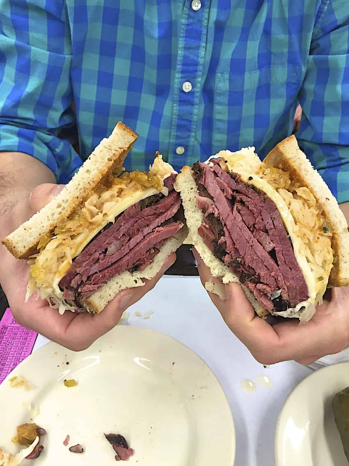Katz's Delicatessen - The BakerMama Taste of NYC