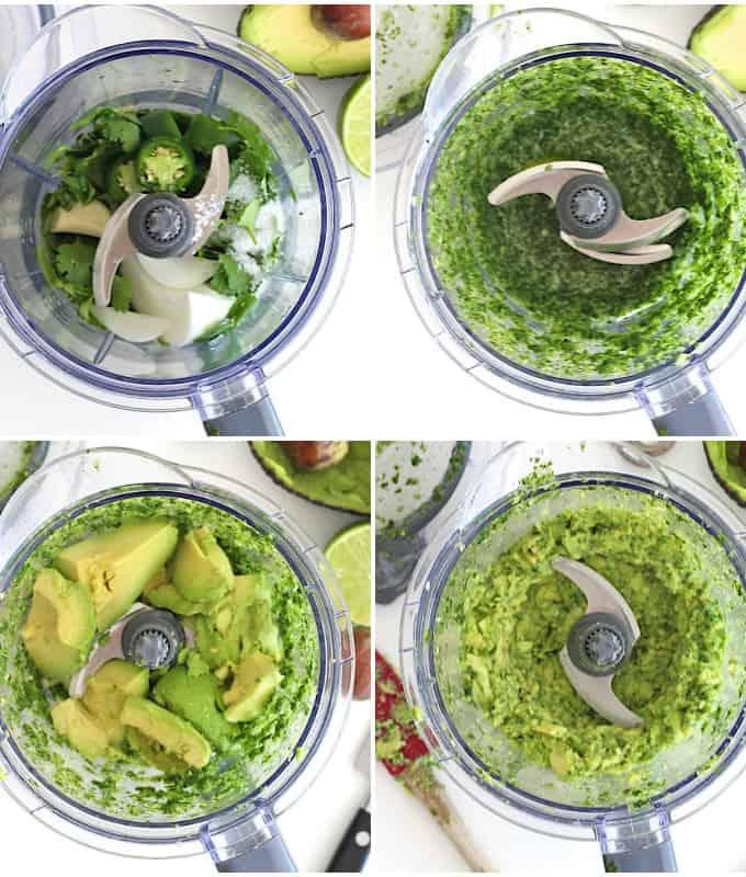 The Best Blender Guacamole