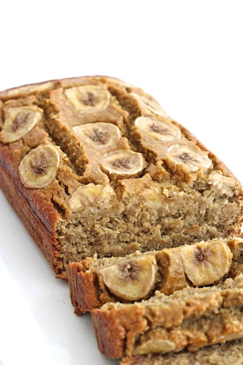 Almond Nuts In Banana Cake