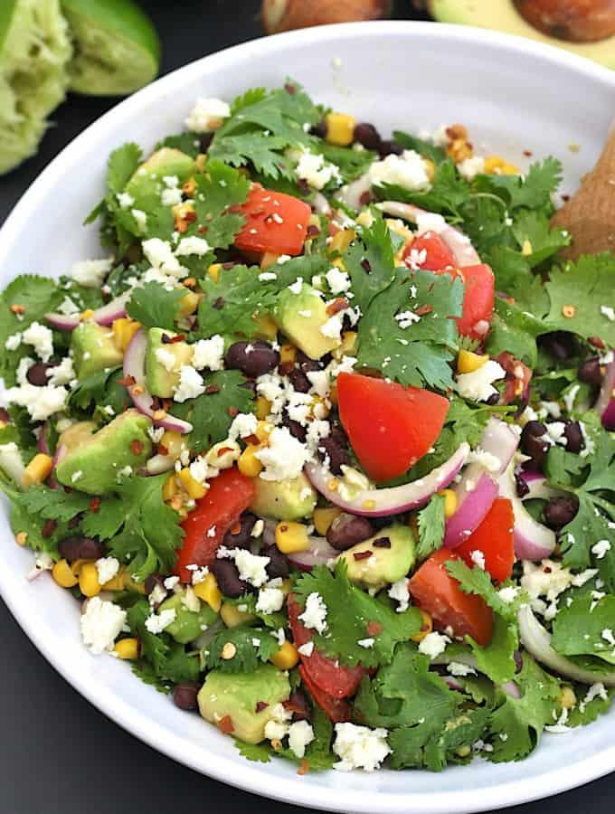 Cilantro Avocado Salad