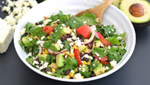 Cilantro Avocado Salad