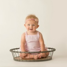 Brookie's 6 Month Pictures