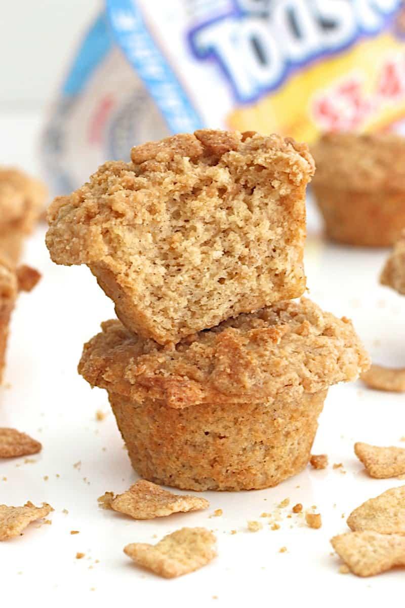 Cinnamon Toasters Cereal Milk Muffins