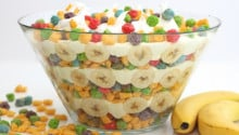 Berry Colossal Crunch Banana Pudding