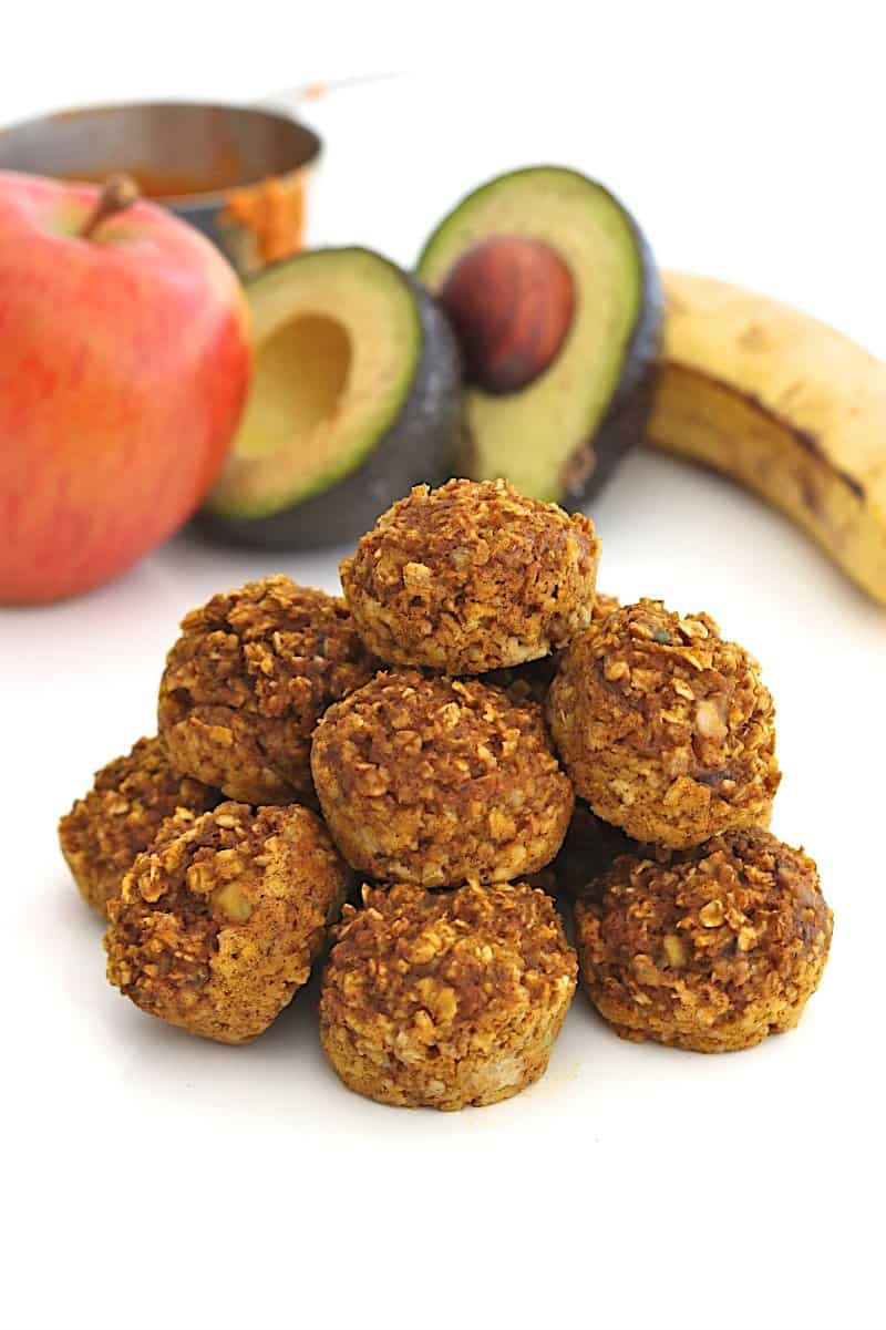Baby Food Oatmeal Bites