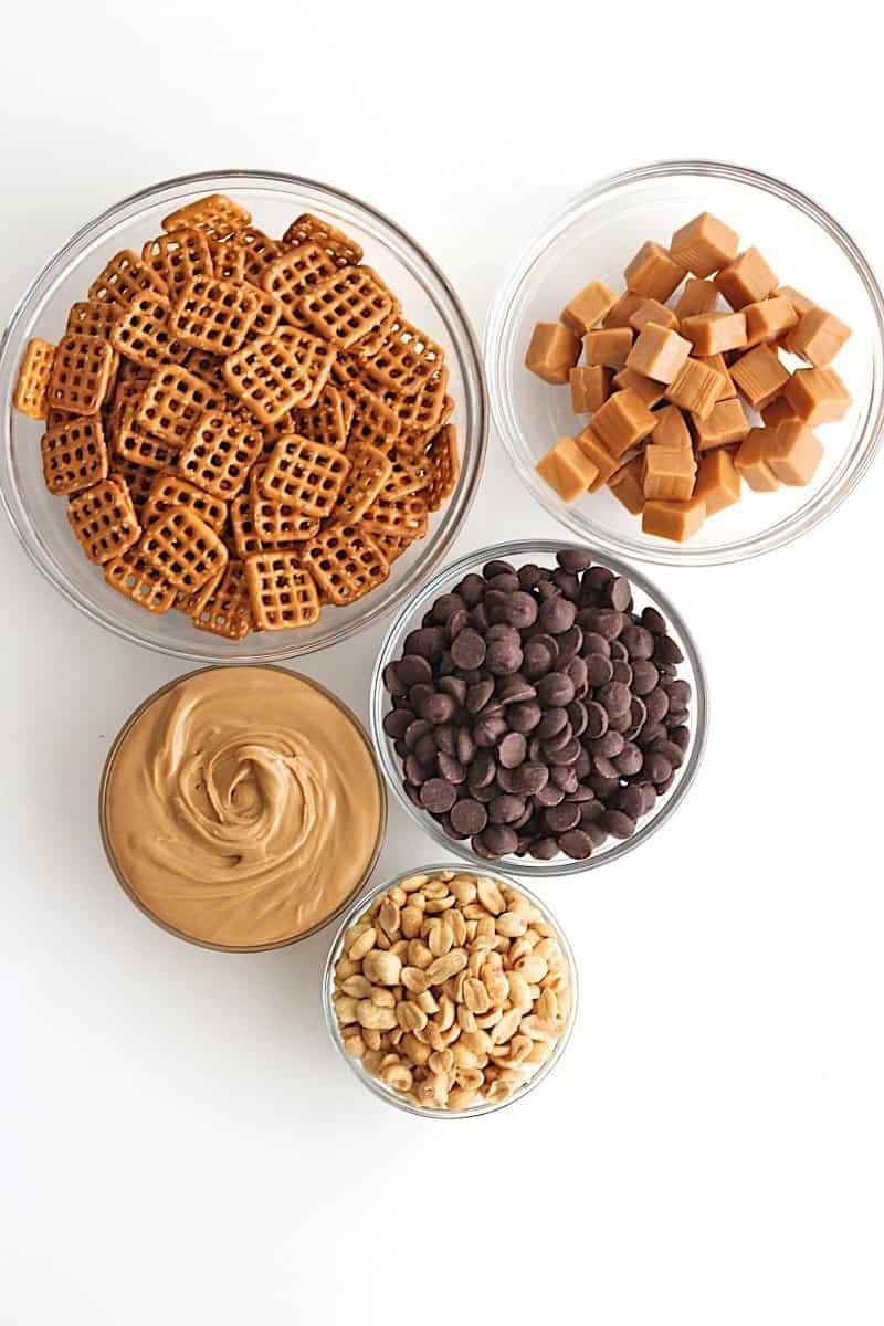 Homemade Take 5 Candy Bars {just 5-ingredients & no-bake}