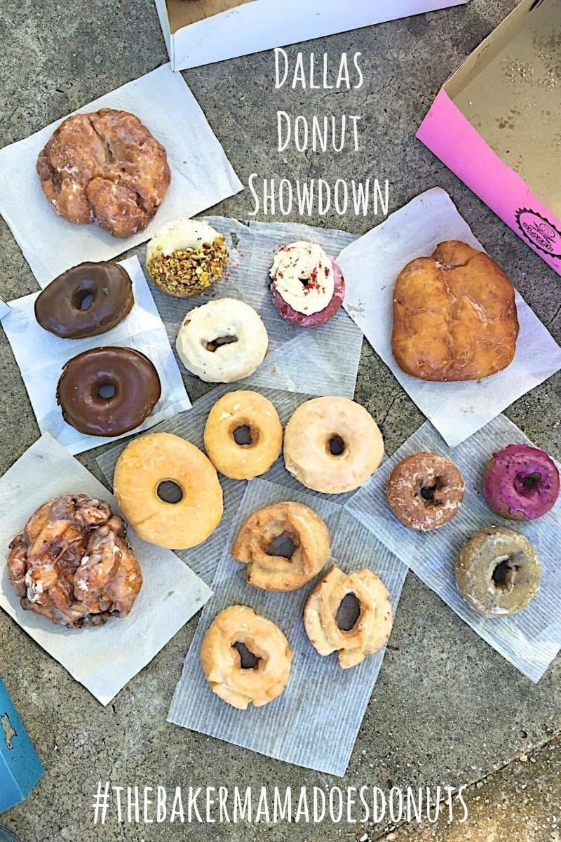 The BakerMama's Dallas Donut Showdown