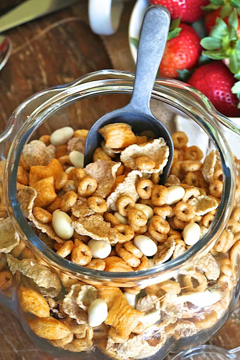 Pumpkin Spice Cereal Mix