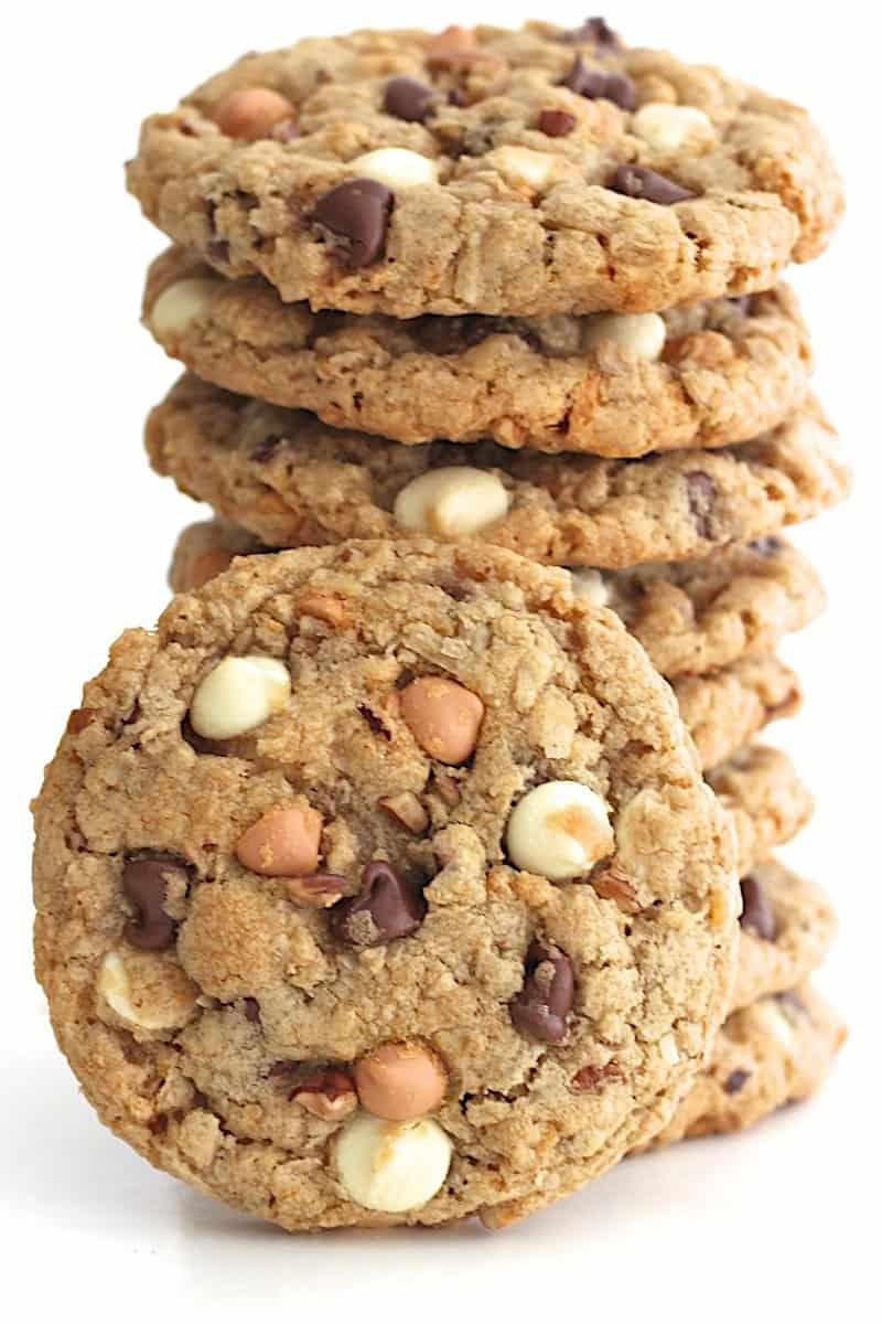 recipe: cowboy oatmeal cookies [22]