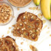 Caramelized Banana Peanut Butter Toast