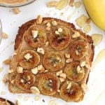 Caramelized Banana Peanut Butter Toast