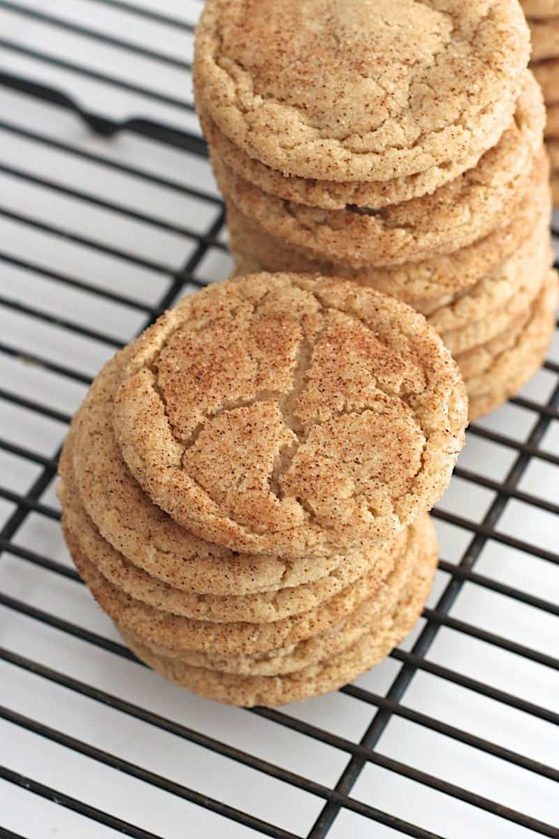 Chewy Gingerdoodle Cookies