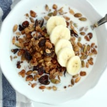 Maple Walnut Granola {from The Healthy Glow Guide}