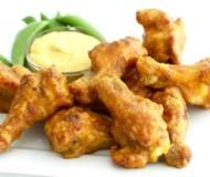 Baked Honey Mustard Chicken Wings